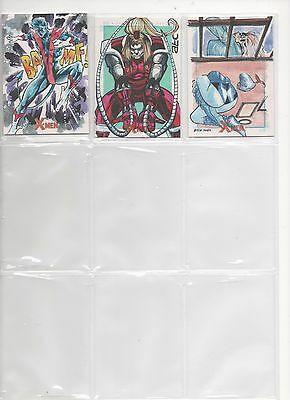 Rittenhouse X Men Archives Sketch Card Cleveland- Auction Is For Single Card