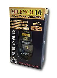 Milenco 10 by Optimate Battery Charger Maintainer for Caravan
