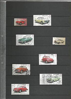 Autos Cars  Bund BRD Sellos Stamps