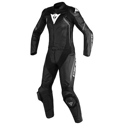 Dainese Avro D2 Black / Black / Anthracite Ladies Two Piece Suit All Sizes