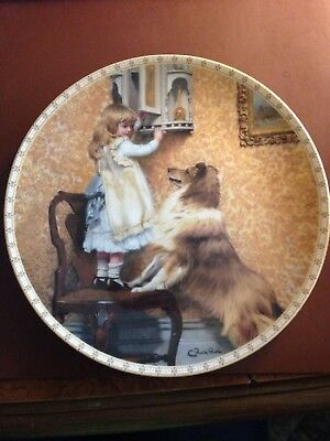 4 pieces A Victorian Childhood  Collectible Plates