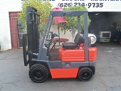 toyota forklift 3000 lbs