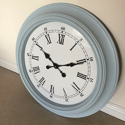 Large Glass Centrepiece And Jones Of London Wall Clock