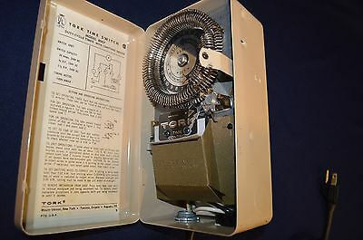 8007 Tork Time Switch  Model 8007 Duty Cycle Timer with Omitting Device NOS