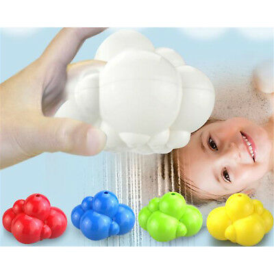 Best Rainbow Clouds Shaped Bathroom Spray Baby Bath Play Toys Water Spraying Tap