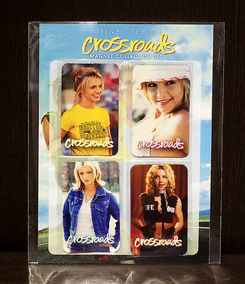 """Britney Spears """"CROSSROADS"""" Collectible Magnet Collection Set"""