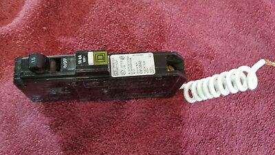 Square D Q0115CAFI Circuit Breaker 15a 120v 1 POLE