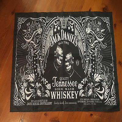 Jack daniels 30 x 30 inch  Mancave flag   man cave or barware pool room sign