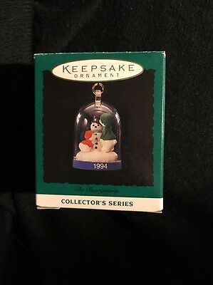 1994 Hallmark Miniature Ornament The Bearymores #3 In Series