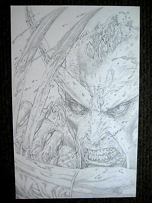 Tim Vigil Original Art Faust Love of the Damned BIG High Detail!!