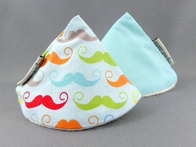 Wee Wee Tee Pee Set - Rainbow Mini Moustaches