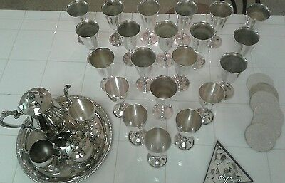 Vintage silver plate lot Clean ! take a look! GREAT DEAL