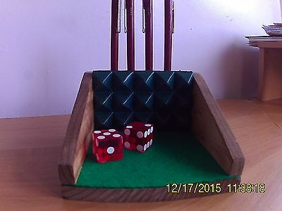 Craps Table Desk Top Pin Holder