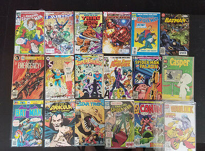 Mixed LOT OF 107 Marvel DC & more Comic Books