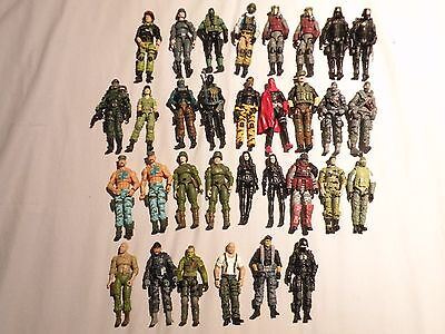 "G.I. Joe 3 3/4"" 1:18 Lot of Loose Weapons, Figures and Accessories • $128.50"