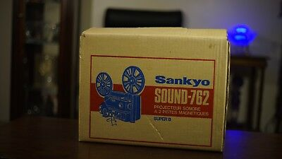 SANKYO Sound 762 Magnetic 2 Track 8mm Movie Projector (NEW)
