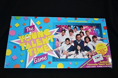 The Young Talent Time Board Game Vintage 1987 Rare As Hens Teeth