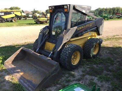 2003 New Holland LS180 Skid Steer Loader