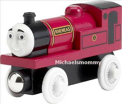 Thomas The Tank And Friends - Wooden Rheneas With White Wheels 2003 **new/htf**