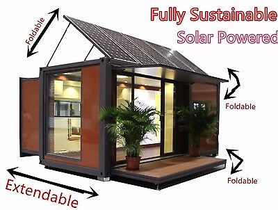 NEW Luxury Modular Portable Mobile House Office Home Cabin Container Granny Flat