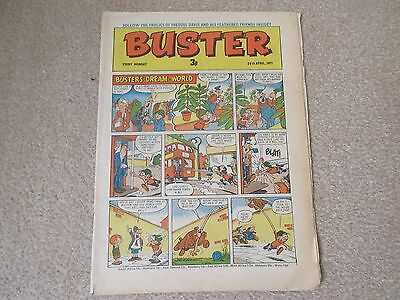 BUSTER COMIC- April  24th 1971, Very  good condition