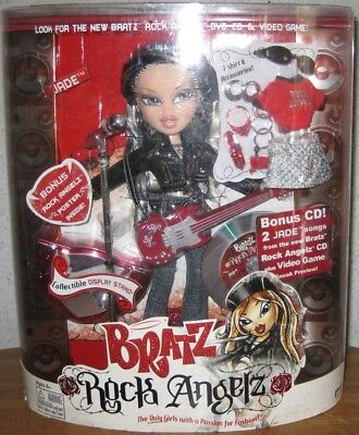 Bratz Rock Angelz Jade 2005 **brand New In Box**