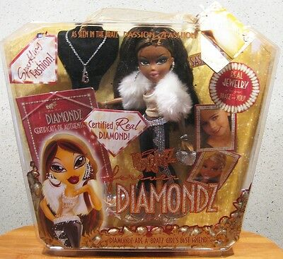 Bratz Forever Diamondz Sasha 2006 **brand New In Box**