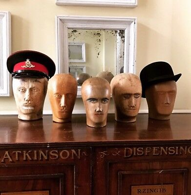 Antique Millinery Heads