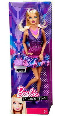 Barbie Fashionistas Violet Doll With App For Iphone Ipad Brand New In Box X7870