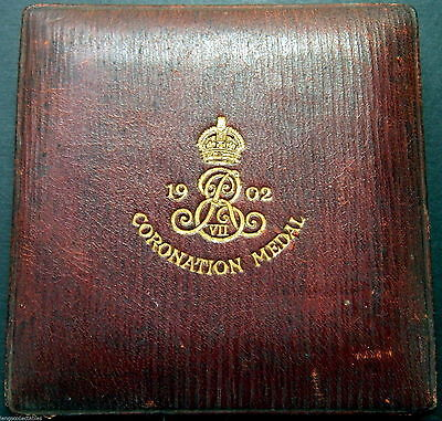 Deceased Estate 1902 Alexandra Queen Consort Copper Royal Coronation Medalion
