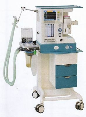 HEYER Medical AG ECONA Anesthesia System WithSCALIS12 Patient Monitor HLSEHS