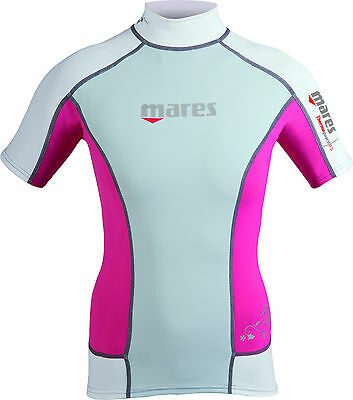 Mares Thermo Guard Damen 0,5 mm Short Sleeve Pink