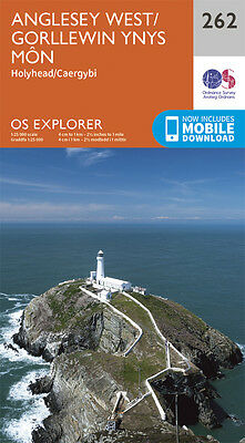 Anglesey West Explorer Map 262 - New - OS - Ordnance Survey