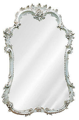 Ornate French Curved Wall Mirror Made in USA in 40 Colors
