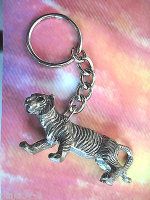 TIGER -  keychain, key chain - GIFT BOXED