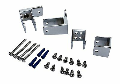 LOT OF 2 BRADLEY Sanymetal 15520 END PANEL KITS FOR RESTROOM BATHROOM PARTITION