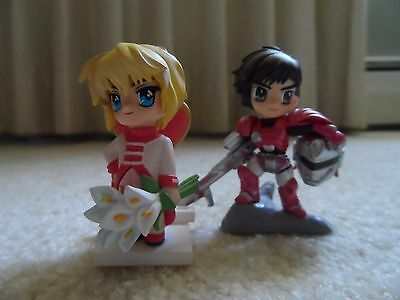 CLAMP in 3D Land Set of Two Figures