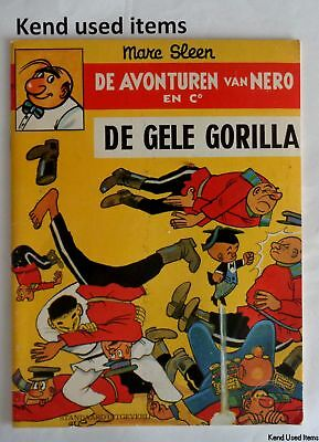 DE AVONTUREN VAN NERO EN CO 26 De gele gorilla 3/9/1979 strip stripboek SLEEN