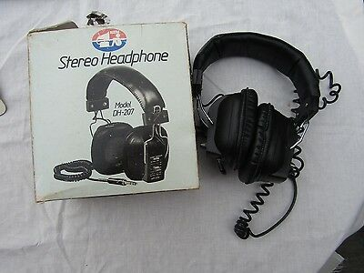 VINTAGE ALTAI stereo HEADPHONES DH 207 BOXED full size headphones