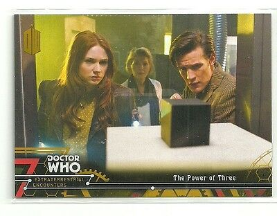 Topps Doctor Who Extraterrestrial Encounters # 88 with Amy Gold Parallel 1 / 1
