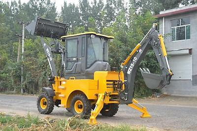 Yanmar Backhoe Loader - 4x4 - Diesel Tractor - Enclosed A/C - Quick Connect