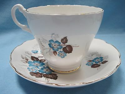 Vintage Royal Ascot England Bone China Cup & Saucer Mint Condition