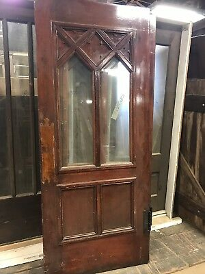"Antique 35"" Entry Door Scottish Rite Chicago Several Styles & Sizes Avail"