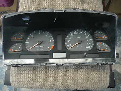 Ford Ef El Xr Tickford Instrument Cluster.low K's (Blue Led's Fitted)
