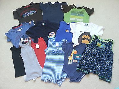 Pre-Love Boys Summer Bundle, Size 1 in Very Good Used Condition