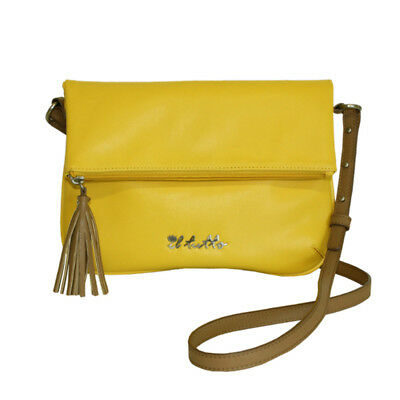 New Il Tutto Anais  Handbag Clutch  Yellow - Free Express Shipping!