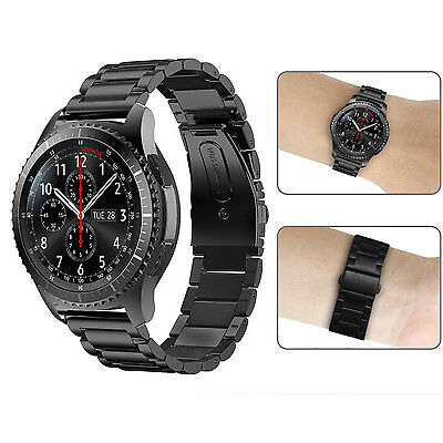 Für Samsung Gear S3 Frontier/Classic Armband Edelstahl Metall Band UhrBand