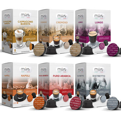 Nescafe Dolce Gusto Compatible Pods Capsules (6 packs - 96 pods)