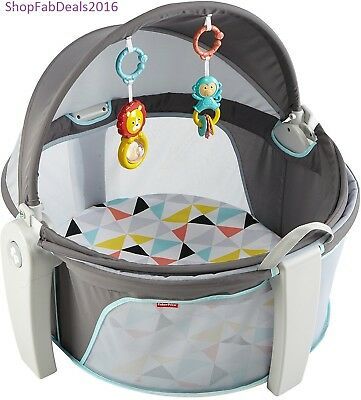 Infant Bassinet Bed On The Go Baby Dome Indoor Outdoor Canopy Bed Portable