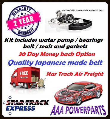 Timing Belt Water Pump Kit To Fit Holden Rodeo 3 2 Amp 3 5